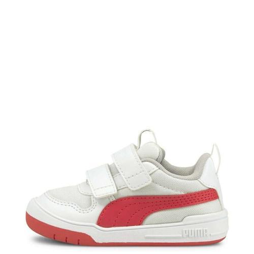 Puma Multiflex Mesh Çocuk Beyaz Spor Ayakkabı (380846-04)