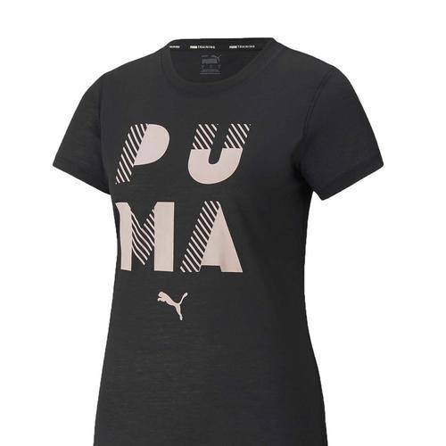 Puma Performance Branded Kadın Siyah Tişört (520921-01)