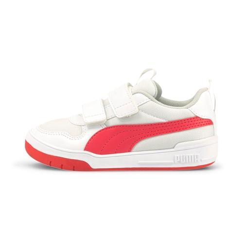 Puma Multiflex Mesh V Çocuk Beyaz Spor Ayakkabı (380845-04)