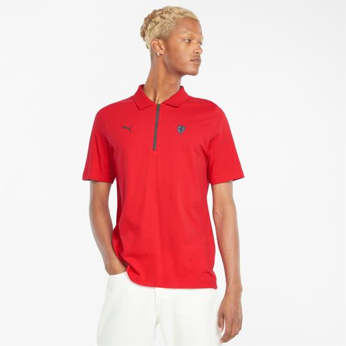 Puma Ferrari Style Erkek Kırmızı Polo Tişört (531774-02)