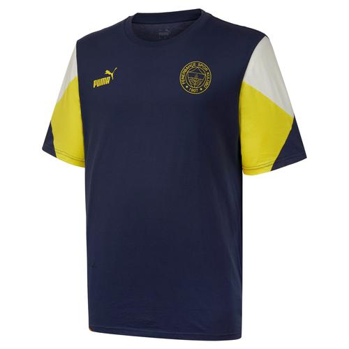 Puma Fenerbahçe Sk FutbolCulture Erkek Lacivert Tişört (767031-05)
