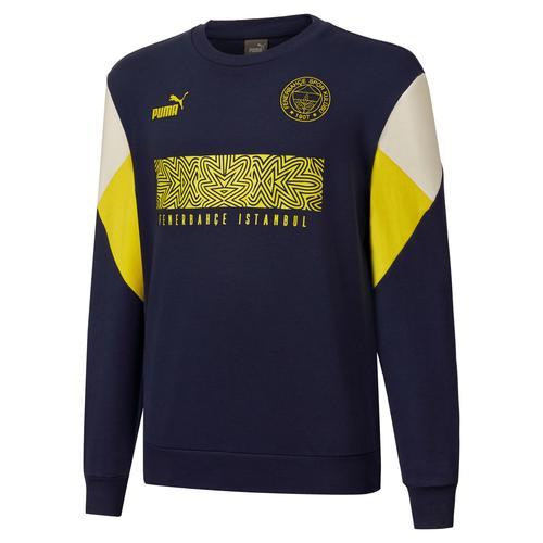 Puma Fenerbahçe Sk FutbolCulture Erkek Lacivert Sweatshirt (767032-05)