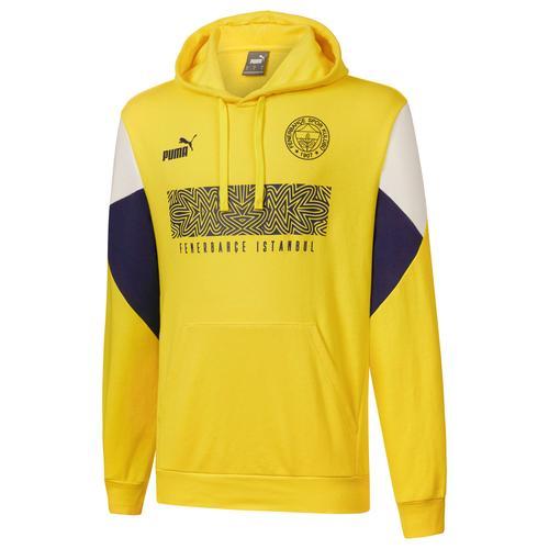 Puma Fenerbahçe Sk FutbolCulture Erkek Sarı Sweatshirt (767033-01)