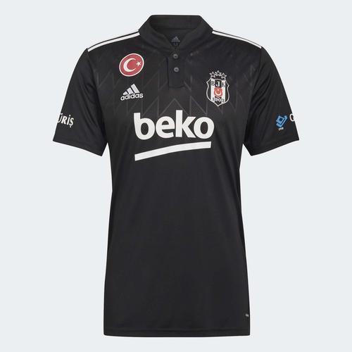 adidas Beşiktaş JK 21/22 Erkek Siyah Deplasman Forması (GT9586)