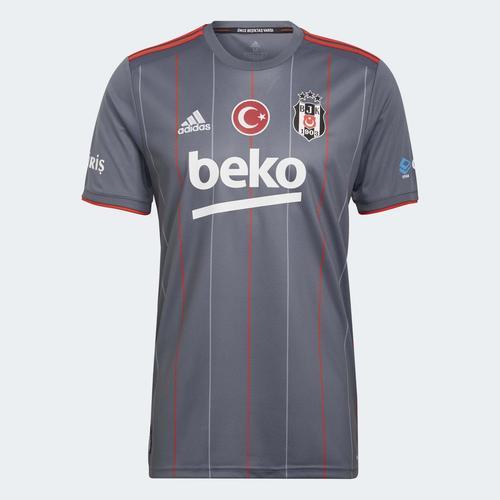 adidas Beşiktaş JK 21/22 Erkek Gri Üçüncü Takım Forması (GT9592)