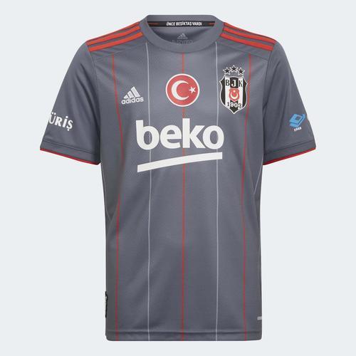 adidas Beşiktaş JK 21/22 Çocuk Gri Üçüncü Takım Forması (GT9580)