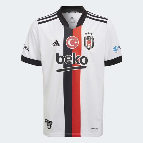 adidas Beşiktaş JK 21/22 Çocuk Beyaz İç Saha Forması (GT9595)