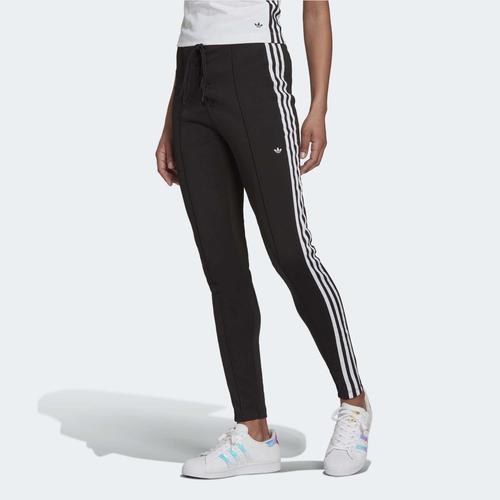 adidas Laced High-Waisted Kadın Siyah Eşofman Altı (H20229)