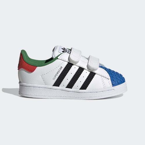 adidas Superstar x LEGO® Bebek Beyaz Spor Ayakkabı (H03969)