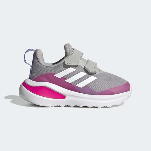 adidas FortaRun Double Strap Bebek Gri Spor Ayakkabı (H04179)