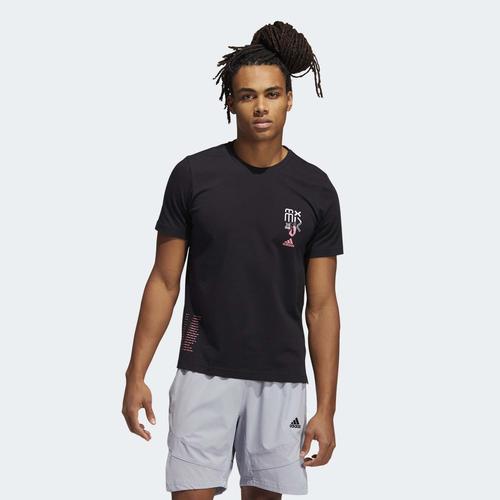 adidas Dame 7 Extply Kadın Siyah Tişört (GU2708)