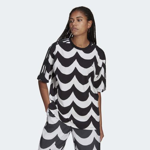 adidas Marimekko Oversize Kadın Tişört (H20475)