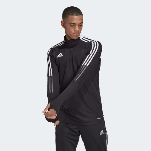 adidas Tiro 21 Training Erkek Siyah Uzun Kollu Tişört (GH7304)