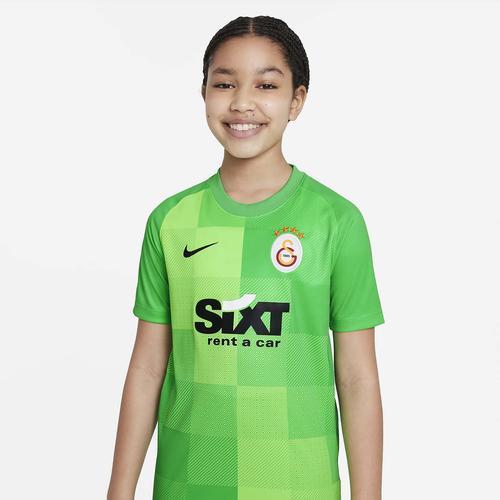 Nike Galatasaray Kaleci Dri-FIT Çocuk Yeşil Forma (DH2297-330)