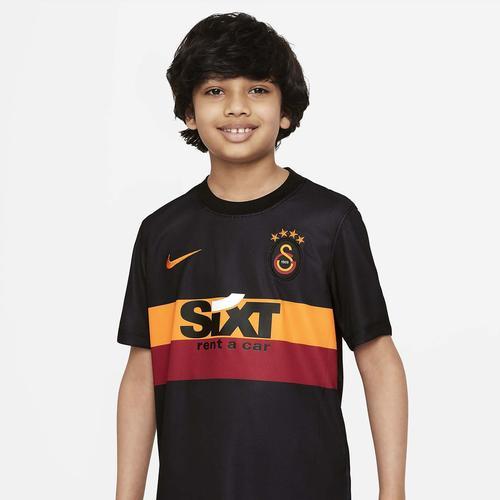 Nike Galatasaray 21/22 Çocuk Siyah Deplasman Forması (CW2518-011)
