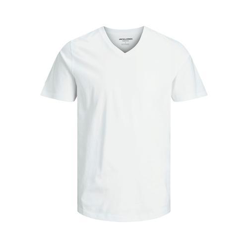Jack & Jones Plain Noos Erkek Beyaz Tişört (12136713-W)