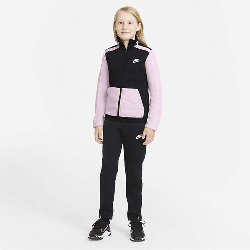 Nike Futura Poly Cuff Çocuk Siyah Eşofman Takımı (DH9661-011)