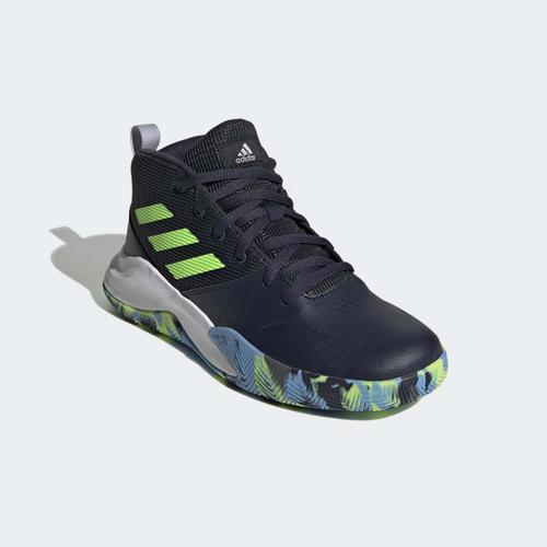 adidas Own the Game Wide Mavi Basketbol Ayakkabısı (FW4566)