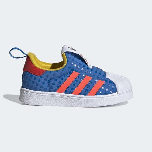 adidas Superstar 360 x LEGO® Bebek Mavi Spor Ayakkabı (H02731)