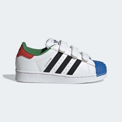 adidas Superstar x LEGO® Çocuk Beyaz Spor Ayakkabı (H03963)