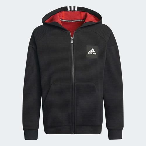 adidas Stadium Çocuk Siyah Ceket (H10163)