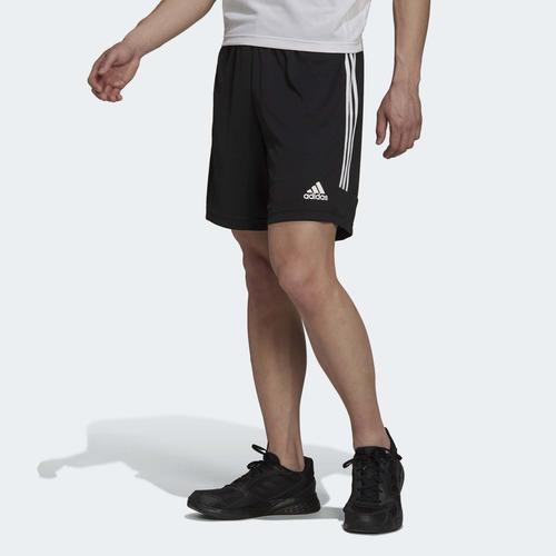 adidas AEROREADY Sereno Cut 3-Stripes Erkek Siyah Şort (H28919)