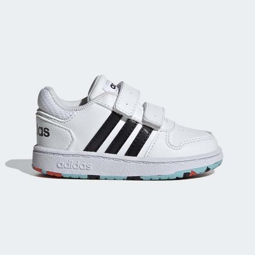 adidas Tenis Hoops Bebek Beyaz Spor Ayakkabı (H01551)