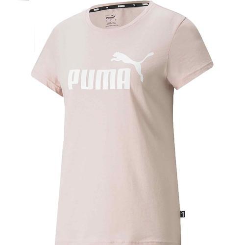 Puma Essentials Kadın Pembe Tişört (586775-36)
