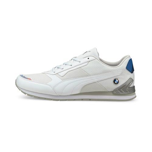 Puma BMW Motosport Track Racer Erkek Beyaz Spor Ayakkabı (306872-02)