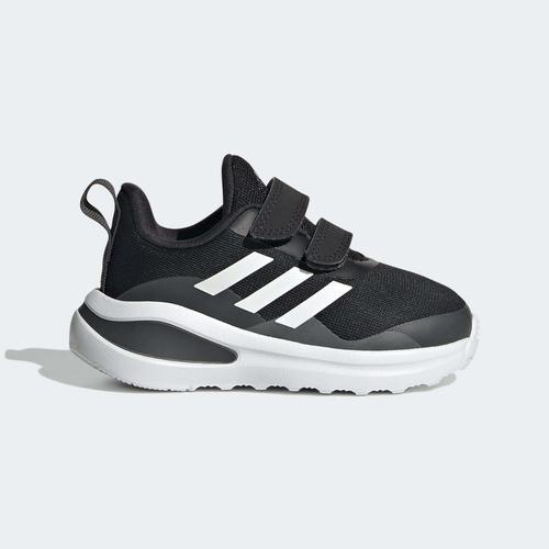 adidas FortaRun Double Strap Bebek Siyah Spor Ayakkabı (H04178)