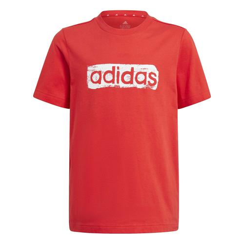 adidas Graphic Çocuk Kırmızı Tişört (GN1471)