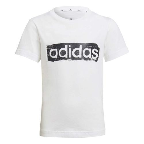 adidas Graphic Çocuk Beyaz Tişört (GN1472)