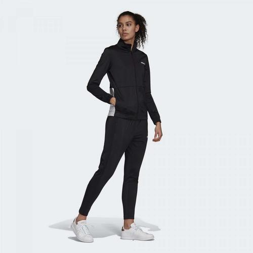 adidas WTS Plain Tric Kadın Siyah Eşofman Takımı (GD4413)