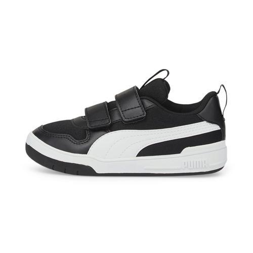 Puma Multiflex Mesh V Çocuk Siyah Spor Ayakkabı (380845-01)