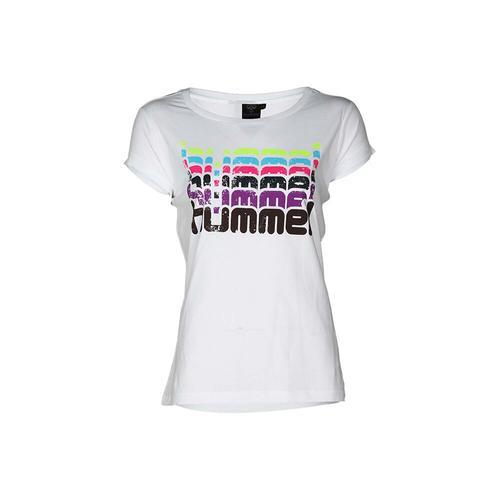 Hummel Catty Kadın Beyaz Tişört (910252-9001)