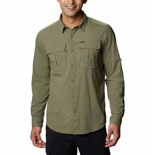 Columbia Newton Ridge Erkek Yeşil Outdoor Gömlek (AO0762-397)