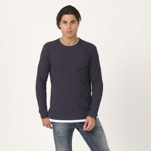 Five Pocket 4214 Erkek Lacivert Sweatshirt (4214-FY115)