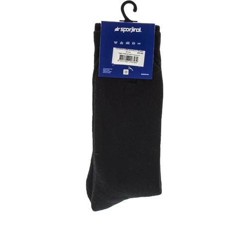 Sporjinal Cevreb Erkek Siyah Boğazlı Çorap (2308)