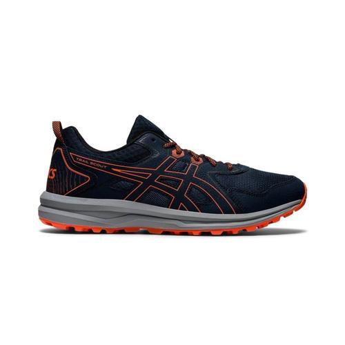 Asics Trail Scout Erkek Lacivert Koşu Ayakkabısı (1011A663-400)