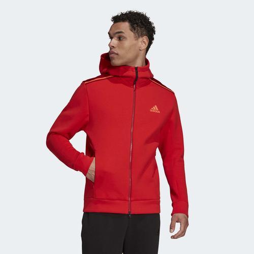 adidas ZNE Erkek Kırmızı Ceket (H08191)