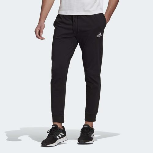 adidas Essentials Single Jersey Tapered Erkek Siyah Eşofman Altı (GK9226)