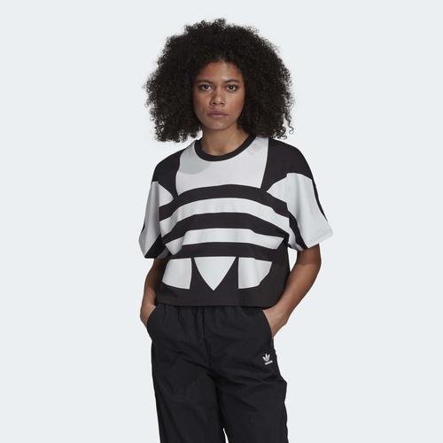 adidas Lrg Logo Kadın Siyah Tişört (FM2562)