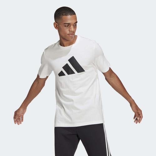 adidas Sportswear Logo Erkek Beyaz Tişört (GP9506)