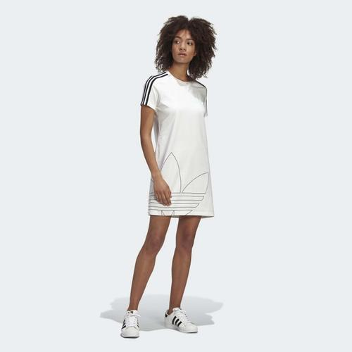 adidas Adicolor Kadın Beyaz Elbise (GK3772)