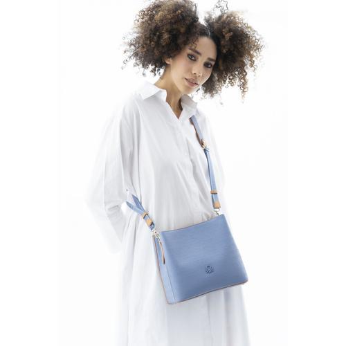 United Colors of Benetton Kadın Mavi Omuz Çantası (BNT468-MAC)