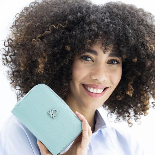 United Colors of Benetton Kadın Yeşil Cüzdan (BNT394-YES)