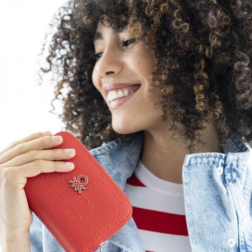 United Colors of Benetton Kadın Kırmızı Cüzdan (BNT394-KIR)