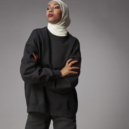 adidas Sweatshırt Kadın Siyah Sweatshirt (H11393)