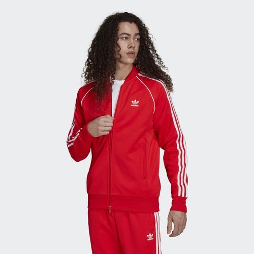 adidas Adicolor Erkek Kırmızı Ceket (H06711)