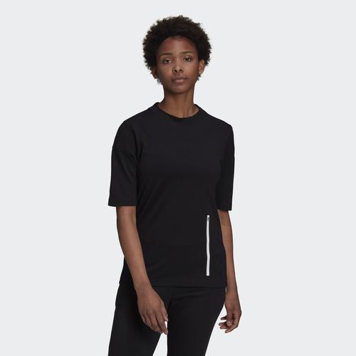adidas ZNE Kadın Siyah Gömlek (H22606)
